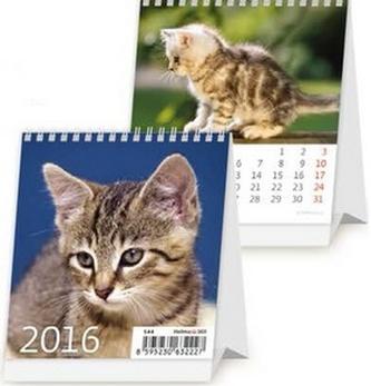 Mini Kittens 2016 - stolní kalendář