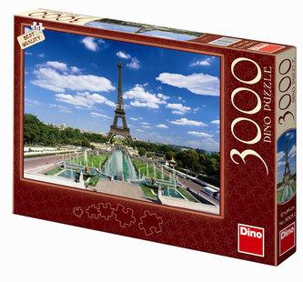 Eiffelova věž - puzzle 3000 dílků - neuveden