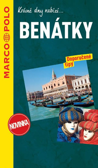 Benátky průvodce na spirále s mapou MD - neuveden