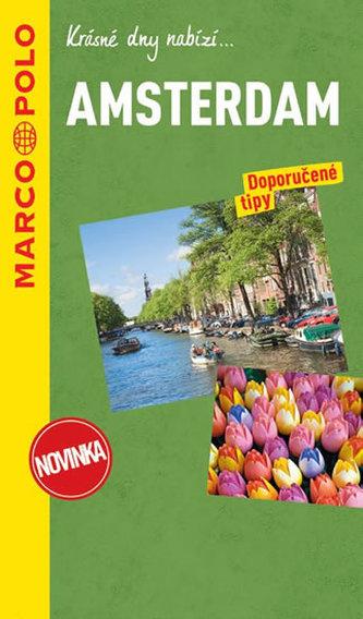 Amsterdam / průvodce na spirále s mapou MD - neuveden