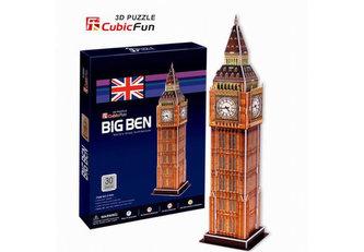 Puzzle 3D Big Ben - 30 dílků - neuveden