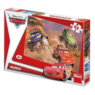 Auta Závodníci - puzzle 66 dílků - neuveden