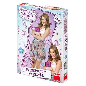 Violetta - panoramic puzzle 150 dílků - neuveden