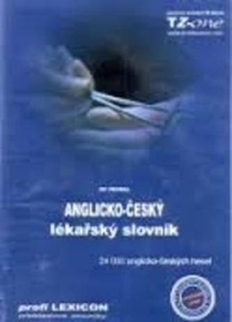 CDR-Anglicko-český lékařský slovník - Vedral, Jiří