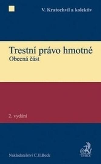 Trestní právo hmotné. Obecná část, 2. vydání