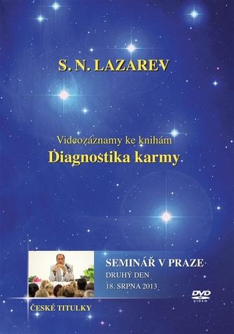 Seminář v Praze 18. 8. 2013 - DVD (Diagnostika karmy) - Lazarev S.N.