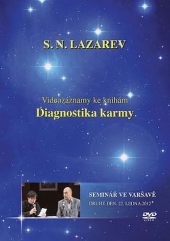 Seminář ve Varšavě 22.1.2012 - DVD (Diagnostika karmy) - Lazarev S.N.