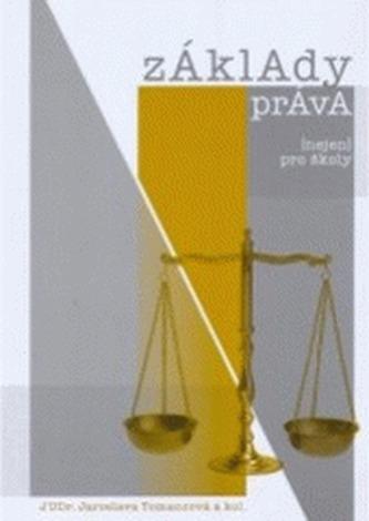 Základy práva (nejen) pro školy - Tomancová, Jaroslava