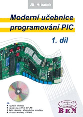 Moderní učebnice programování mikrokontrolérů PIC