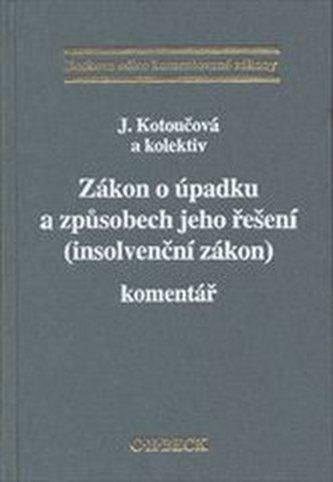 Zákon o úpadku a způsobech jeho řešení (insolvenční zákon)