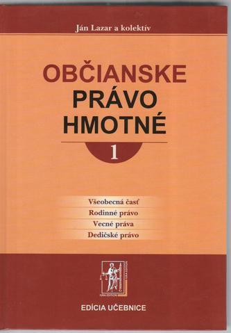 Občianske právo hmotné 1.a 2.zv.