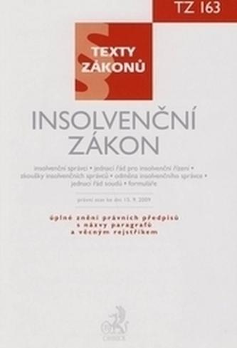 Insolvenční zákon, právní stav ke dni 15. 9. 2009