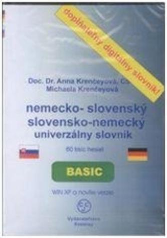 CD-ROM Univerzálny slovensko-anglický anglicko-slovenský slovník BASIC - Kernech, Michael de