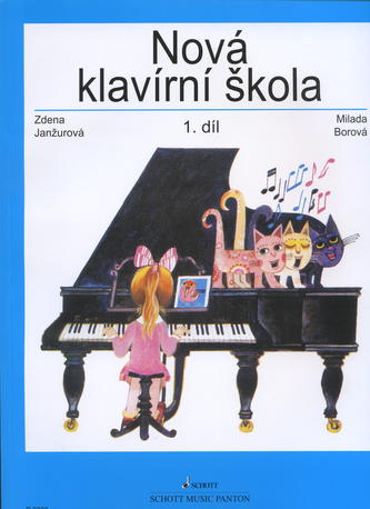 Nová klavírní škola 1. diel - Milada Borová