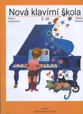 Nová klavírní škola 2. diel - Milada Borová