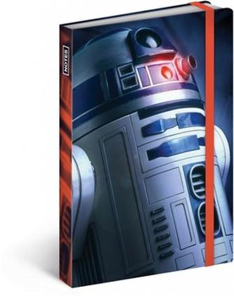 Notes Star Wars Blue, 10,5 x 15,8 cm - neuveden