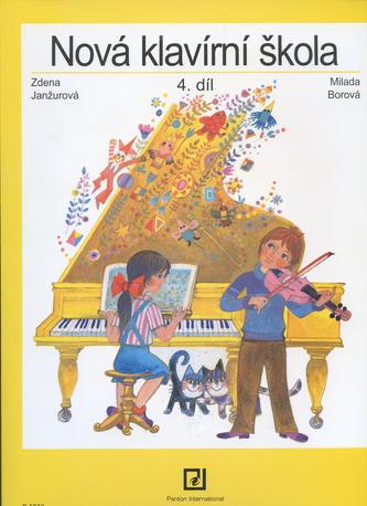 Nová klavírní škola 4. diel - Milada Borová