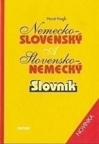 Nemecko-slovenský/slovensko-nemecký slovník