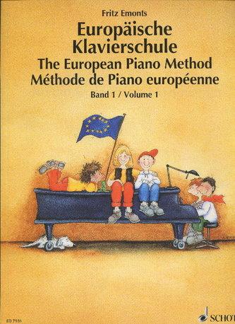 Evropská klavirní škola 1. - Emonts, Fritz