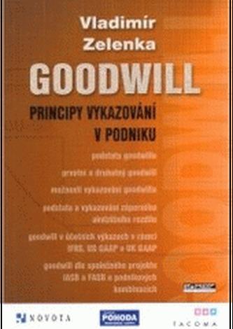 Goodwill principy vykazování v podniku - Zelenka, Vladimír