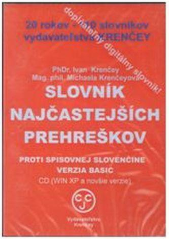 CD Slovník najčastejších prehreškov proti spisovnej slovenčine - Krenčey, Ivan