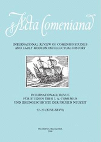 Acta Comeniana 22-23 - Kolektív autorov