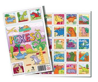Pexeso 32 Prehistoric JUNIOR - neuveden