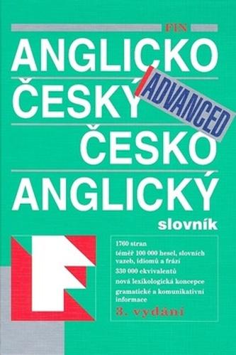 FIN Anglicko český česko anglický slovník Advanced