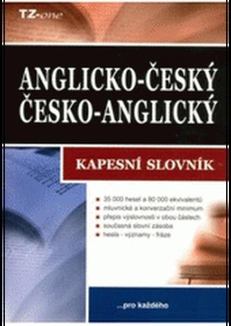 Anglicko-český/česko-anglický kapesní slovník