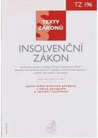 Insolvenční zákon, právní stav ke dni 1.8. 2011 - Kolektív autorov