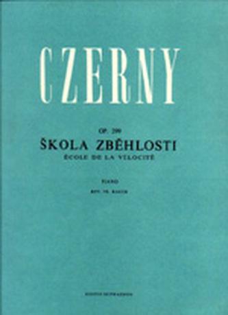 Škola zběhlosti op. 299 - Czerny, Carl