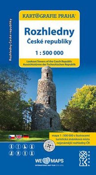 Rozhledny České republiky 1:500 000
