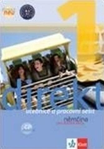 Direkt neu 1 – učebnica s pracovným zošitom a 2CD + prehľad nemeckej gramatiky - Kolektiv autorů