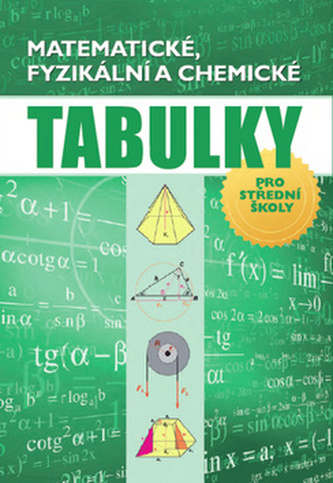 Matematické, fyzikální a chemické tabulky - Radek Chajda