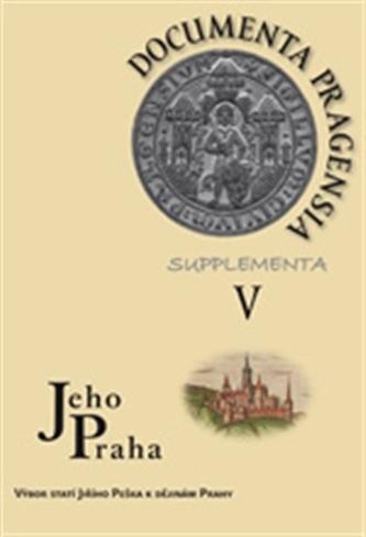 Documenta Pragensia Supplementa V. - kol.