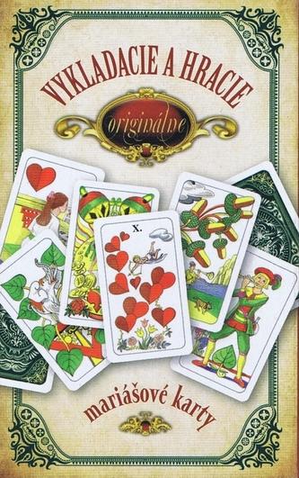 Originálne vykladacie a hracie mariášové karty - Hrubý Jan
