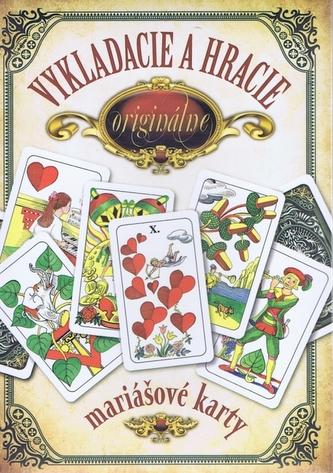 Darčekový komplet - Vykladacie a hracie originálne mariášové karty - Hrubý Jan