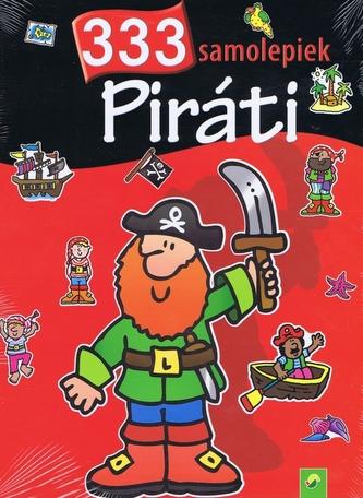 Piráti - 333 samolepiek - kolektiv
