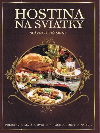 Hostina na sviatky - slávnostné menu - autor neuvedený