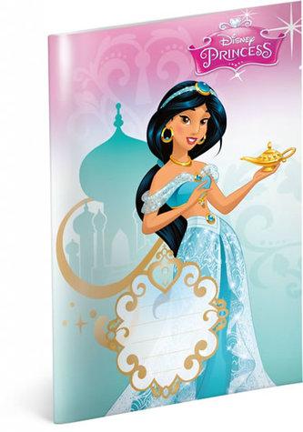 Sešit Princess Jasmine, 14,8 x 21 cm - neuveden