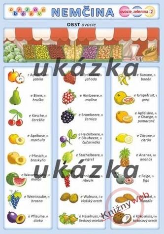 Obrázková nemčina 2 - ovocie, zelenina - Kupka a kol. Petr