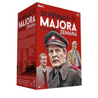 30 Případů Majora Zemana - 30 DVD - neuveden