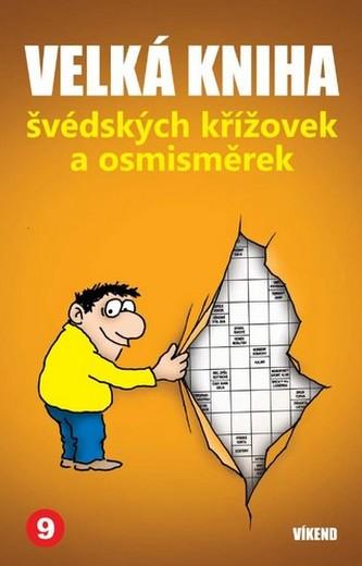 Velká kniha švédských křížovek a osmisměrek 9 - neuveden
