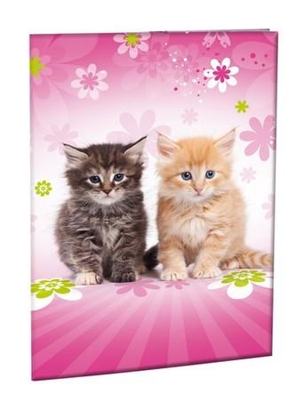 Školní desky na abecedu - Cats - neuveden