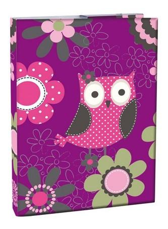 Box na sešity A4 - Owl - neuveden