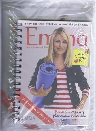 EMMA - Tajomstvo mojej línie (set kniha + dvd) - Tekelyová Emma