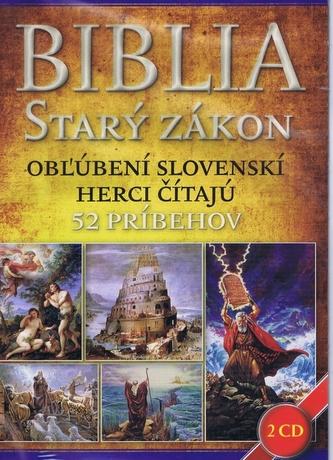 Biblia Starý zákon 2 CD - kolektiv