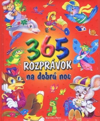 365 rozprávok na dobrú noc - autor neuvedený