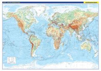 Svět obecně zeměpisná mapa