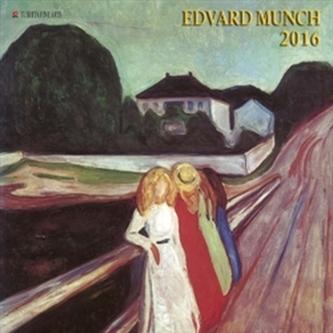 Nástěnný kalendář - Edvard Munch 2016